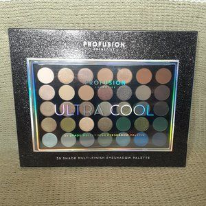 PROFUSION Ultra Cool 35 Shade Eyeshadow Palette